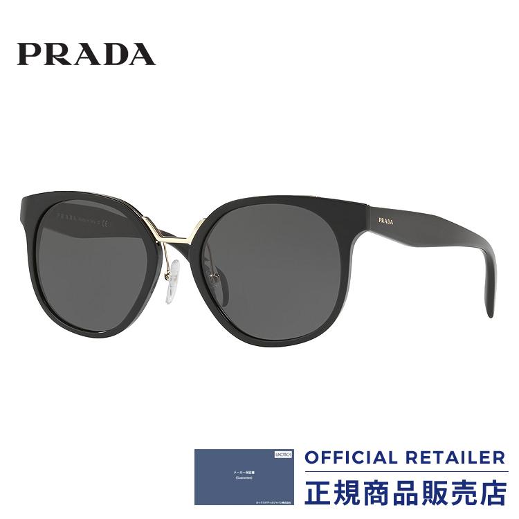 プラダ サングラス PR17TS 1AB5S0 53サイズPRADA PR17TS-1AB5S0 53サイズサングラス レディース メンズ