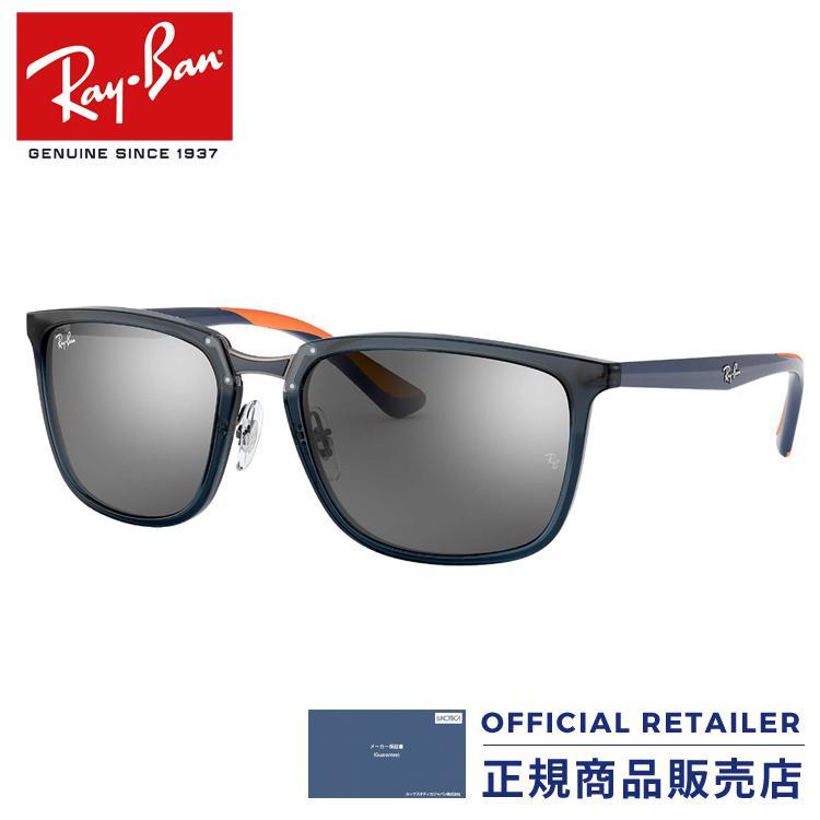 レイバン サングラス RB4303 636488 57サイズ2018NEW 新作 軽量 コンビネーションフレーム プラスチック メタル ラバーRay-Ban RX4303 636488 57サイズ サングラス メンズ レディース