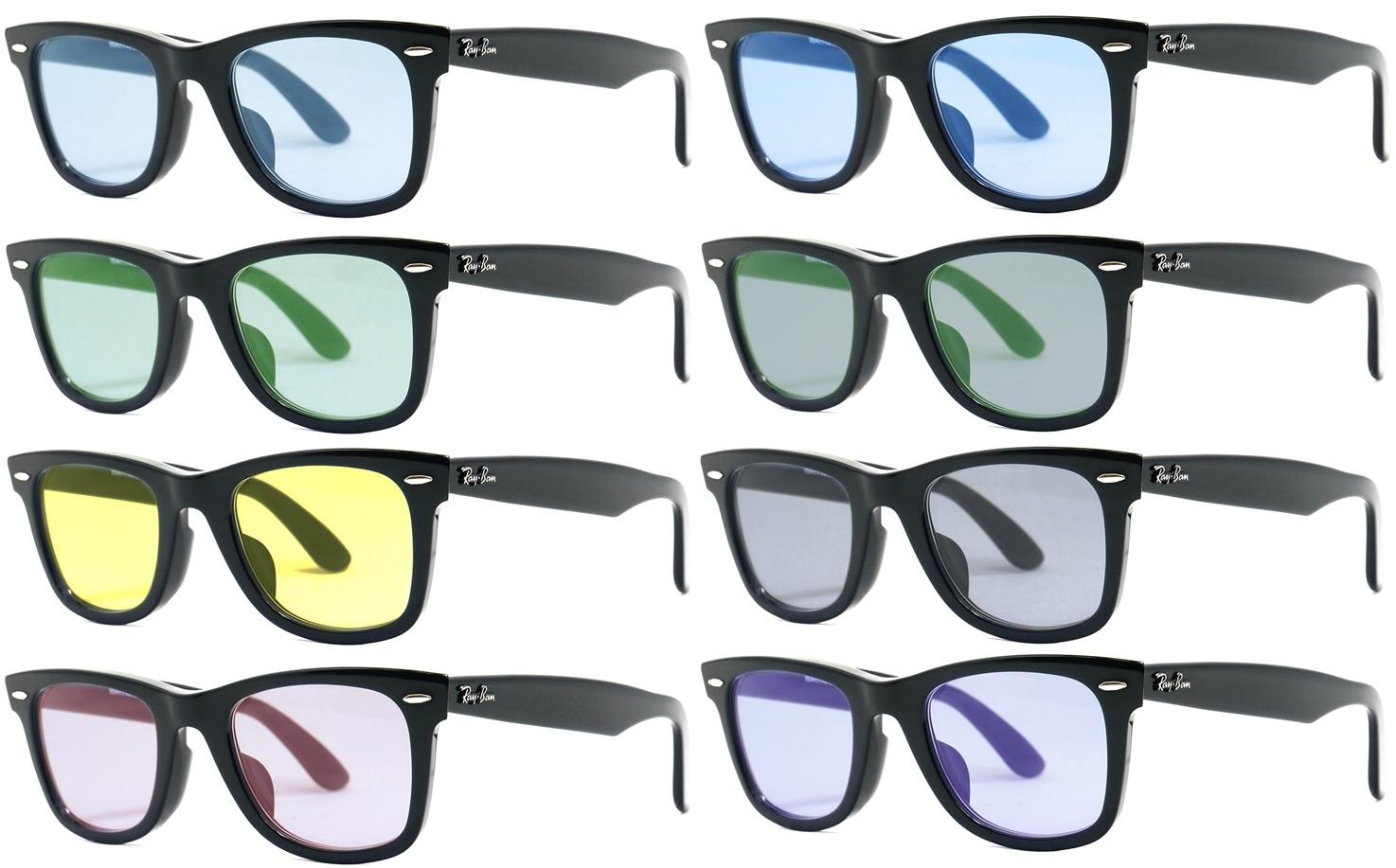 選べるカラーレンズ付き!レイバン RX5121F 2000 50サイズ Ray-Banレイバン メガネフレーム ウェイファーラーフルフィットRB5121F 2000 50サイズ メガネ フレーム 眼鏡 めがね レディース メンズ 伊達メガネ メガネフレーム