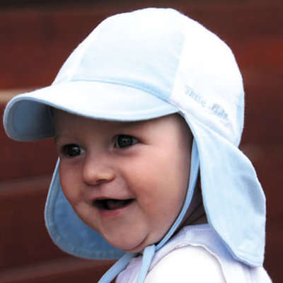 Sun hat - Baby hat - Soft Baby Legionnaires - Blue White UPF50+ EXCELLENT  PROTECTION which blocks  97.5% of the sun s UV radiations giving excellent  ... 6d92fda28e5