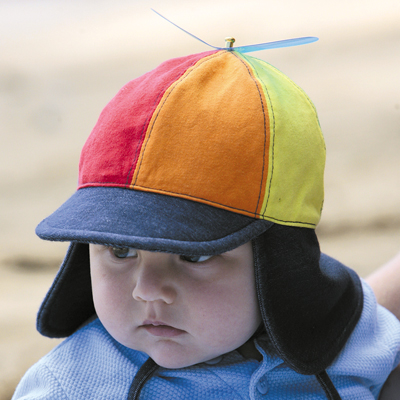 Sun hat - Baby hat - Soft Baby Legionnaires - Rainbow UPF50+ EXCELLENT  PROTECTION which blocks  97.5% of the sun s UV radiations giving excellent  protection 964ca2c783c