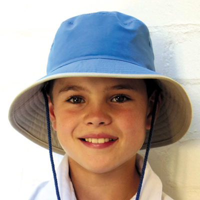 a05d989b UV cut Hat ( children ) - kids Sun Hat - reversible cricket Hat color:  black/grey