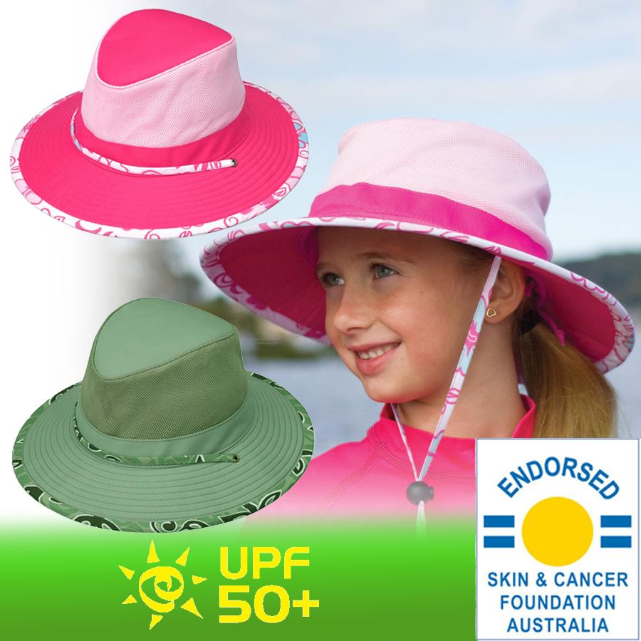 UV cut hat (for kids) - kids   Hat - wide brim Simhat ☆ children Hat boys  girls children s hat uv 1d8de14ec67