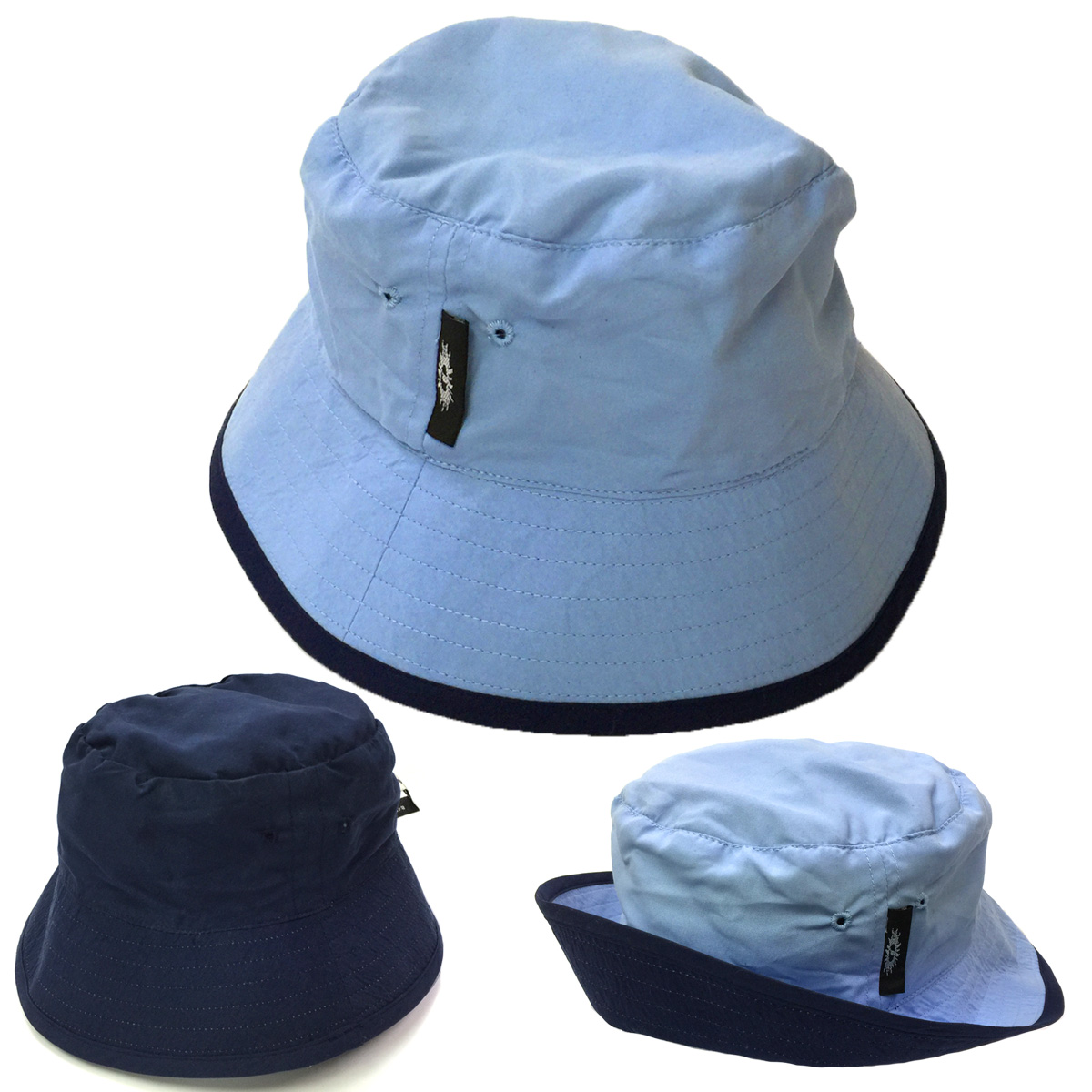 5b771455 Sun hats - Children's hats - Adults Unisex Woven Reversable Hat UPF50+  EXCELLENT PROTECTION which blocks >97.5% of the sun's UV radiations giving  excellent ...