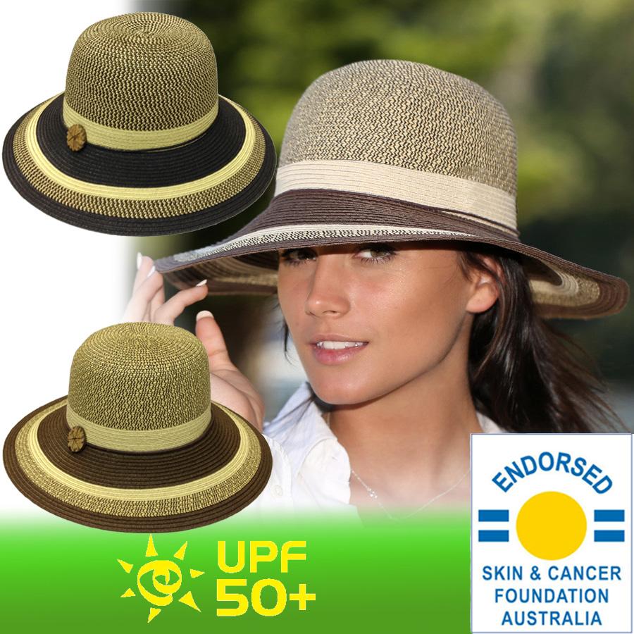 Straw Hat straw hat UV cut women s hats - Gatsby style ladies ladies   UV  (UV) maximum value of UPF 50 + 75b205c5946