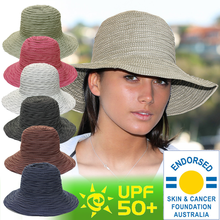 50bd8da8448 UV cut hat (junior women)-summer resort Hat 56 cm ☆ brimmed hat brim wide  Cap folding awning Hat UV measures Hat UV Hat bag storage ladies UV  measures ...