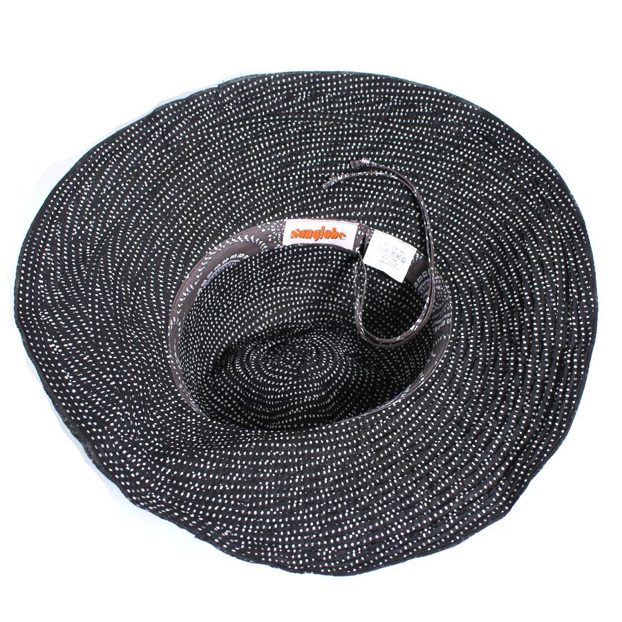 UV 切 (妇女) 的帽子-边的女士们的帽子帽子-织物蜷缩的帽子女士女士 * UV 削减的率最大值 UPF 50 +