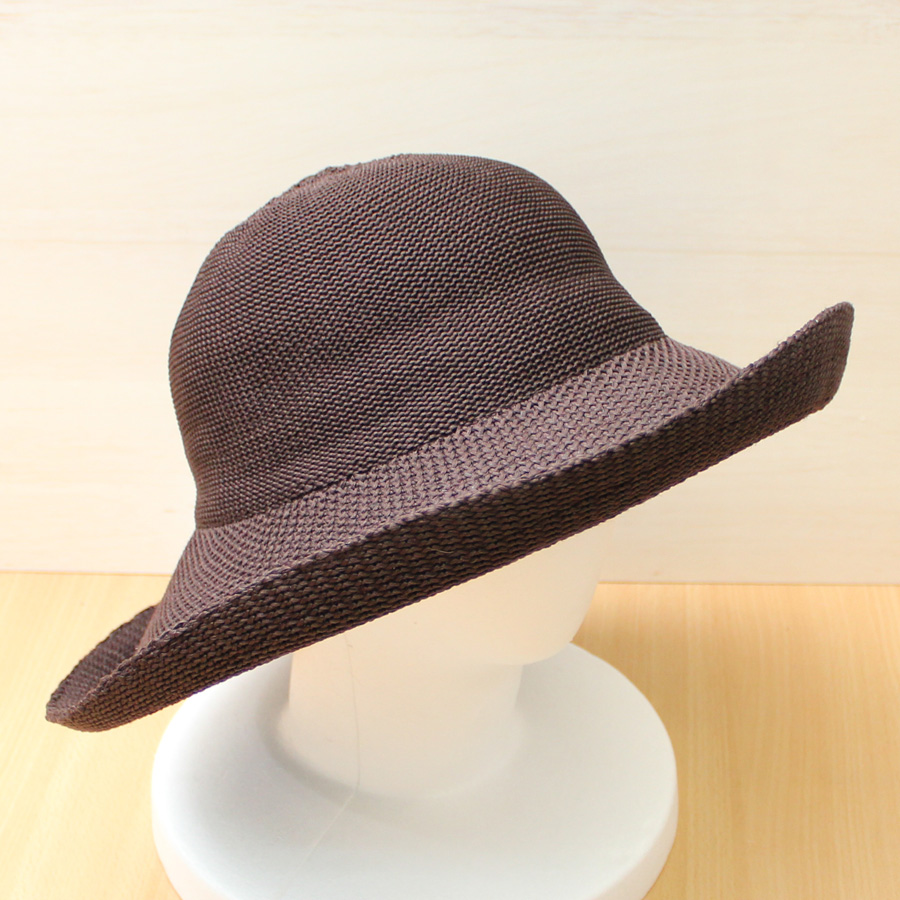 05cc2145206de Sun hat - Ladies hat - Silhouette Style - Chocolate UPF50+ EXCELLENT  PROTECTION which blocks  97.5% of the sun s UV radiations giving excellent  protection