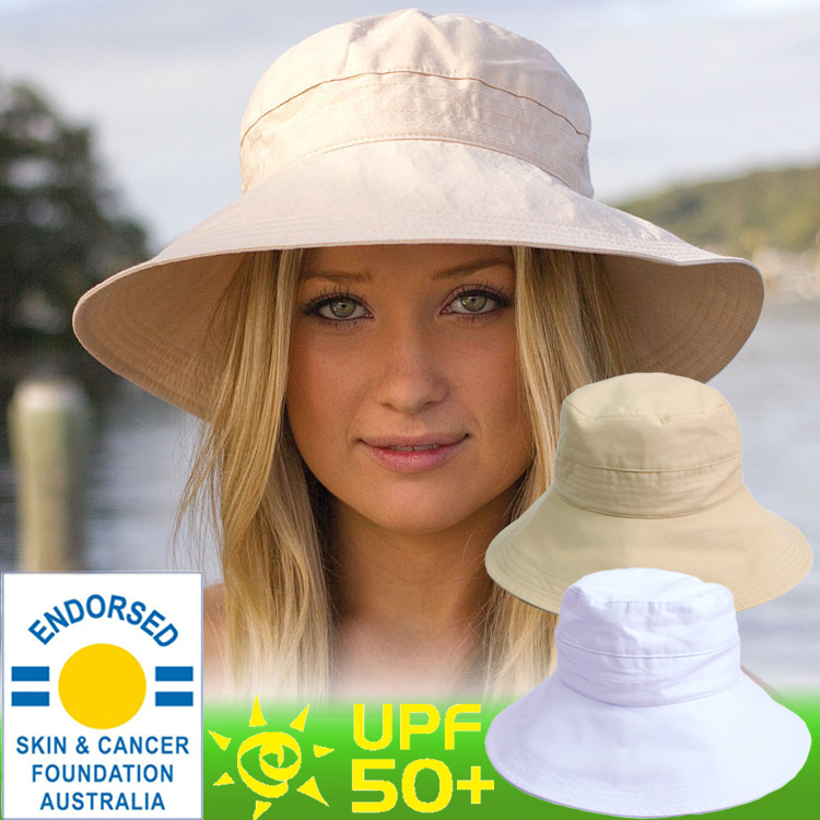 6833db8bf2c UV cut hat (women s) - women s hats - light cotton casual traveler ☆ Hat  brimmed hat brim wide Cap folding awning Hat UV measures Hat UV Hat bag  storage ...