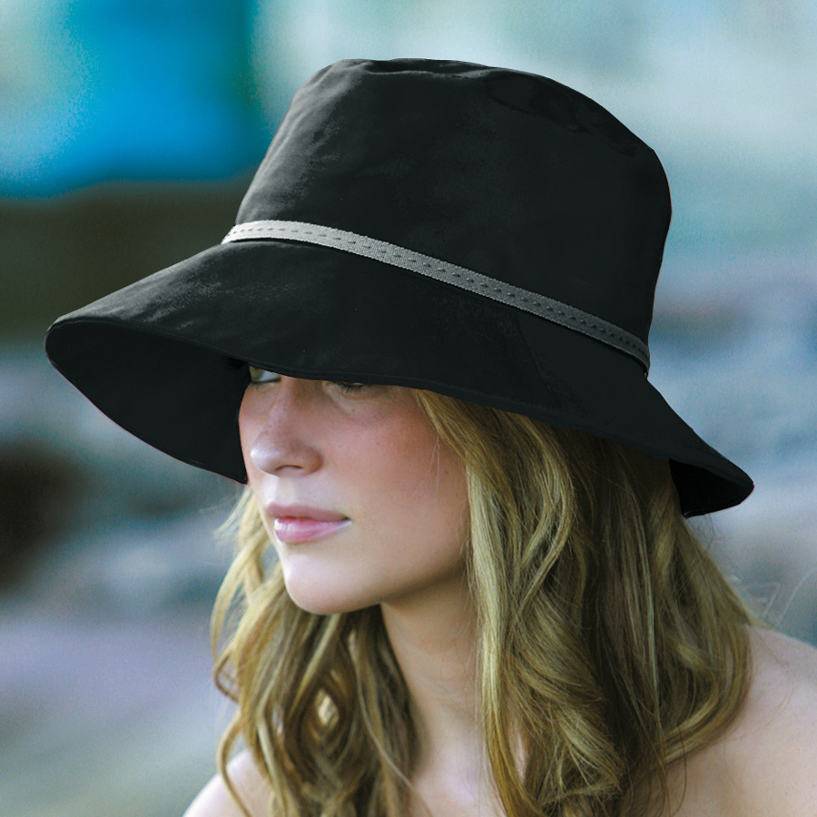 Sun Hat Las Cotton Wide Brim Bucket Black Upf50 Excellent Protection Which  Blocks 97 5 Of fda63ce54c9