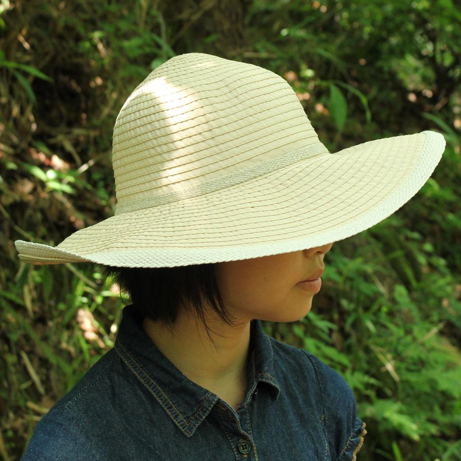 4b019a74d966d Sunglobe  Sun hat - Ladies hat - Ribbon Capeline - Natural UPF50+ ...