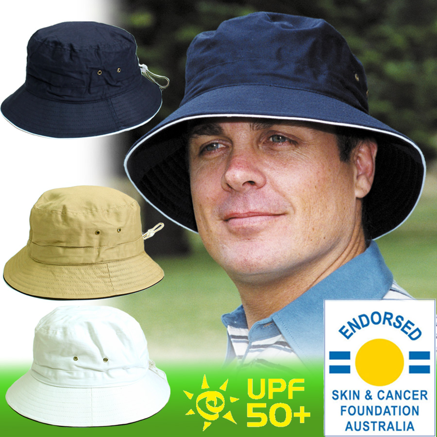 8d7107b7d12c66 Sunglobe: Sun hat - Mens hat - Cotton Bucket Hat Navy UPF50+ EXCELLENT  PROTECTION which blocks >97.5% of the sun's UV radiations giving excellent  protection ...