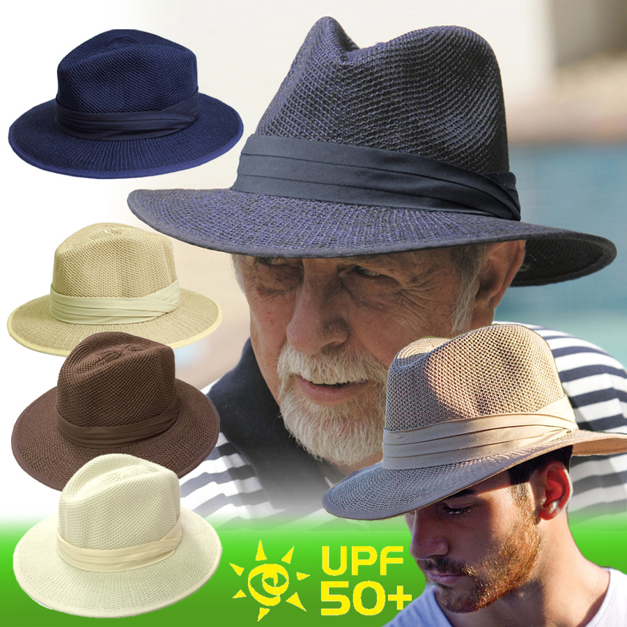 UV 切 (为人) 的帽子-男士帽子-聚棉 メンズハット 男子 * 边境巡逻队 50 + fs3gm 的紫外线 (UV) 最大值
