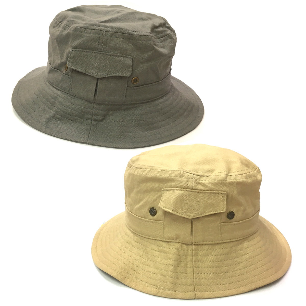 1792c18f9751be Sun hat - Mens hat - Cotton Drill Bucket Hat UPF50+ EXCELLENT PROTECTION  which blocks > ...