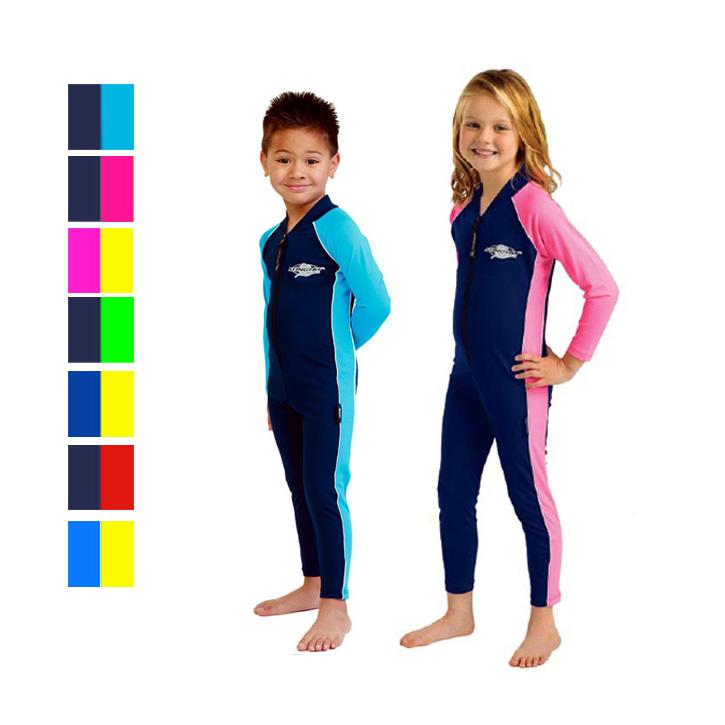紫外線対策に!肌が弱い子ども向けのラッシュガード、長袖のスイムスーツ・水着のおすすめを教えて!