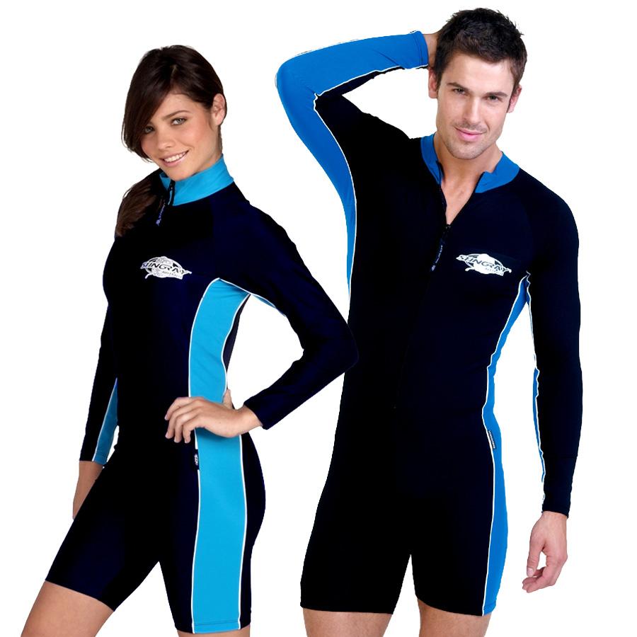 フィットネス 水着 メンズ レディース UVカット ユニセックス(男女共用) スイムウェア 長袖 スイムスーツ つなぎ フィットネス 水着 メンズ レディース※紫外線カット(UVカット)最高値UPF50+