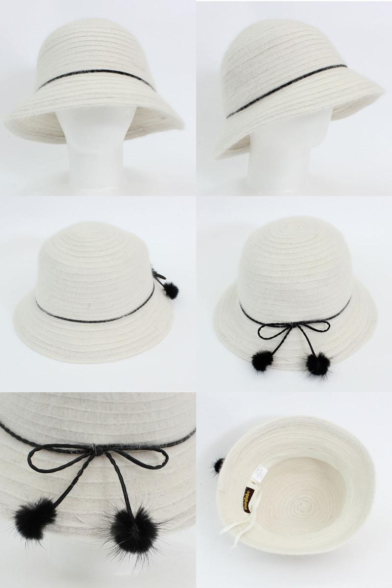 165affff14cfd Sunglobe  Sun hat - Ladies hat - Cloche Style Angora Braid - Black ...