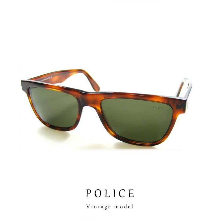 ポリス ヴィンテージ サングラス POLICE 1250-710 レトロ デッドストック初期 ポリス
