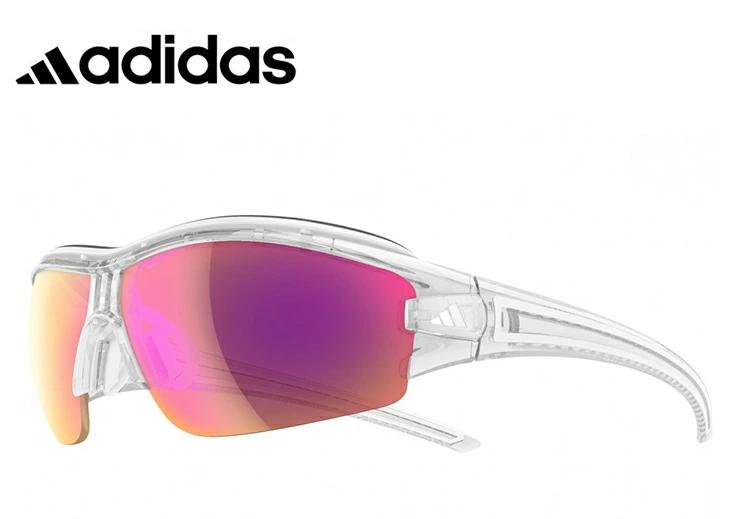 アディダス レディース 調光サングラス [ adidas a198 6097 EVIL EYE HALFRIM PRO S ] [ 度付き 対応 可能 ] 女性用 Lサイズ スポーツサングラス 自転車 登山 ランニング 調光レンズ ミラーレンズ サングラス