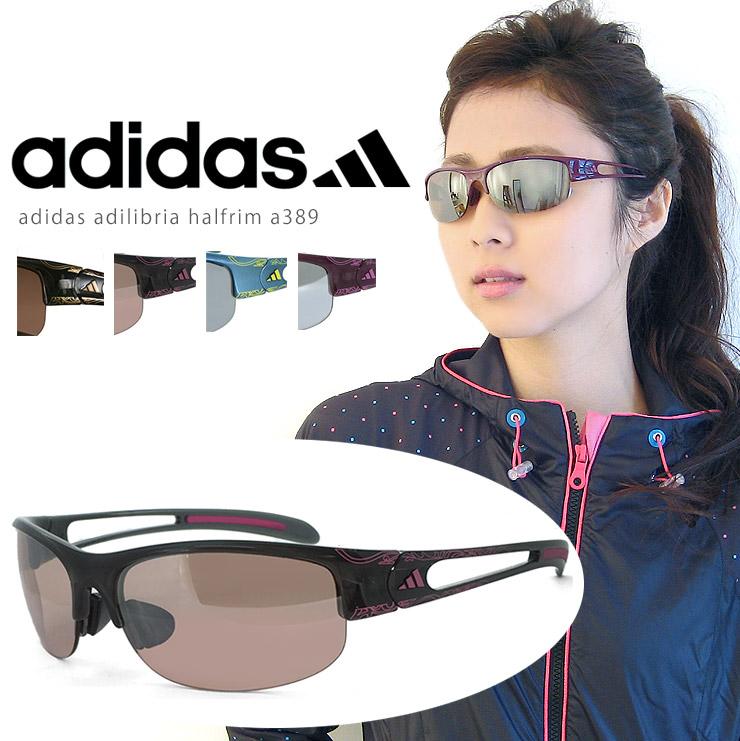 阿迪达斯女子运动太阳镜阿迪达斯 a389 adilibria halfrim S 妇女 / 运行上最好的高尔夫球网球 / 销售 / 每次响应时间