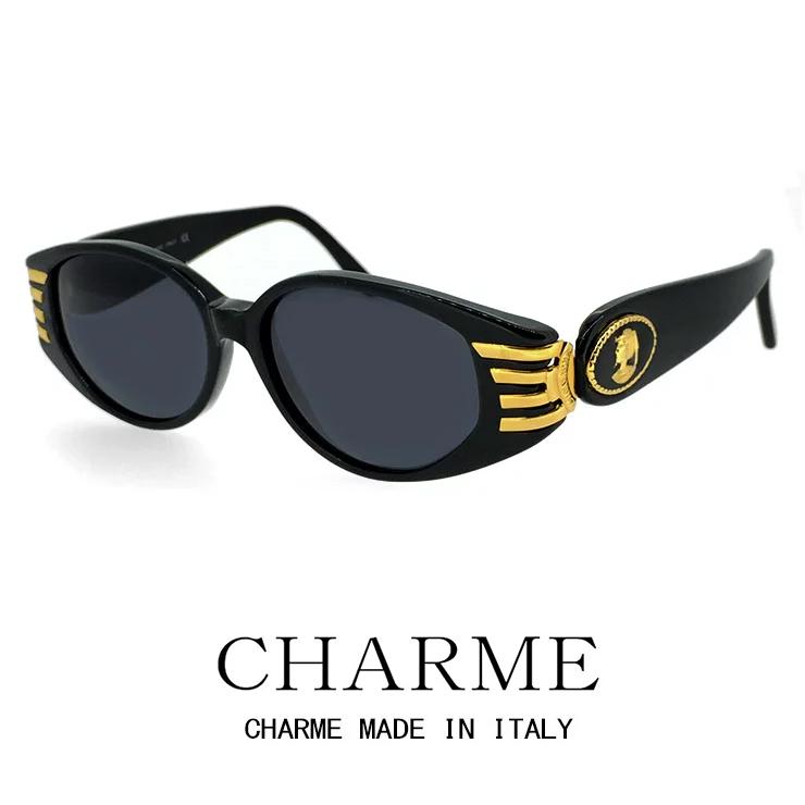 CHARME (シャルム) サングラス 7212-700 レトロ ヴィンテージ クラシック メンズ レディース オーバル