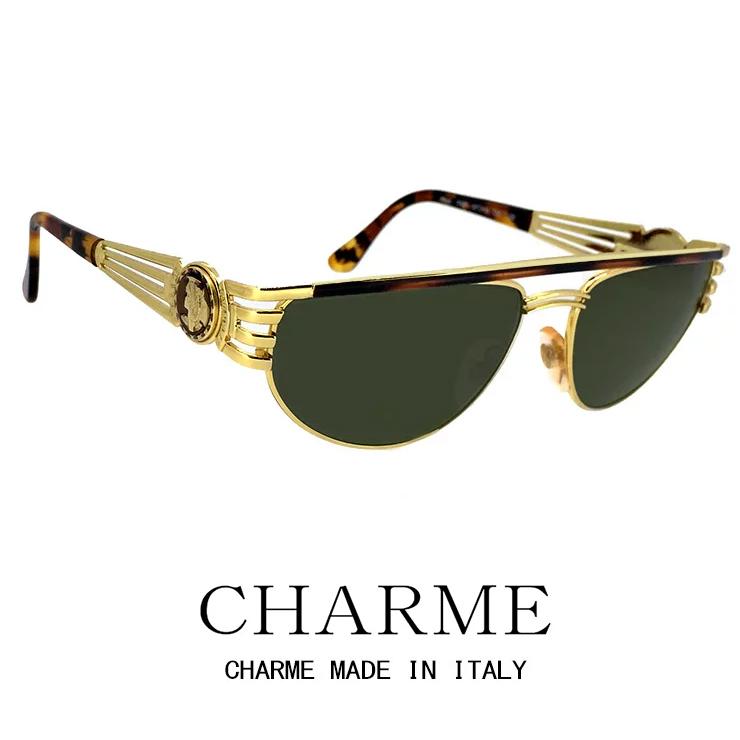 CHARME (シャルム) サングラス 7527-120 レトロ ヴィンテージ クラシック メンズ レディース
