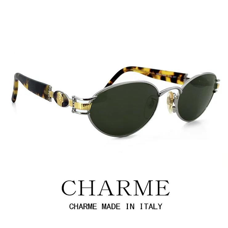 CHARME (シャルム) サングラス 7539-241 レトロ ヴィンテージ クラシック メンズ レディース オーバル