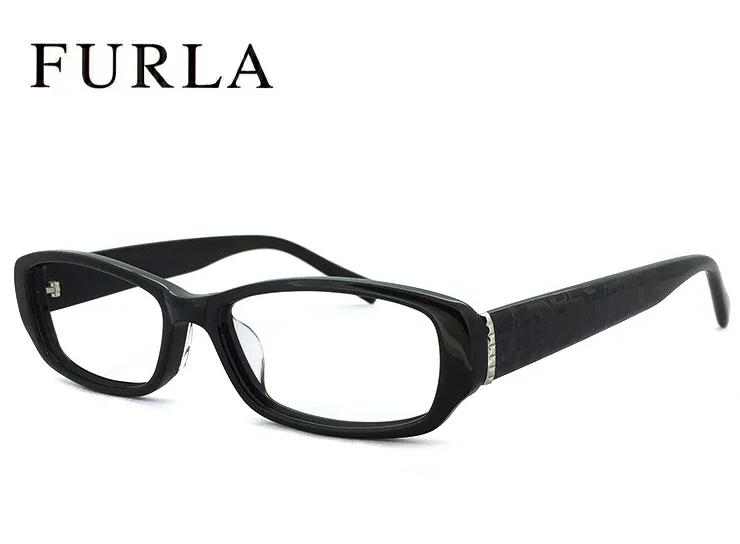フルラ メガネ FURLA 眼鏡 【ジャパンフィット モデル】VU4806j-700x ブラック [ レディース 女性用 ] [ 度付き,ダテ眼鏡,クリアサングラス,老眼鏡 に対応 ] UVカット 紫外線対策 おしゃれ 人気