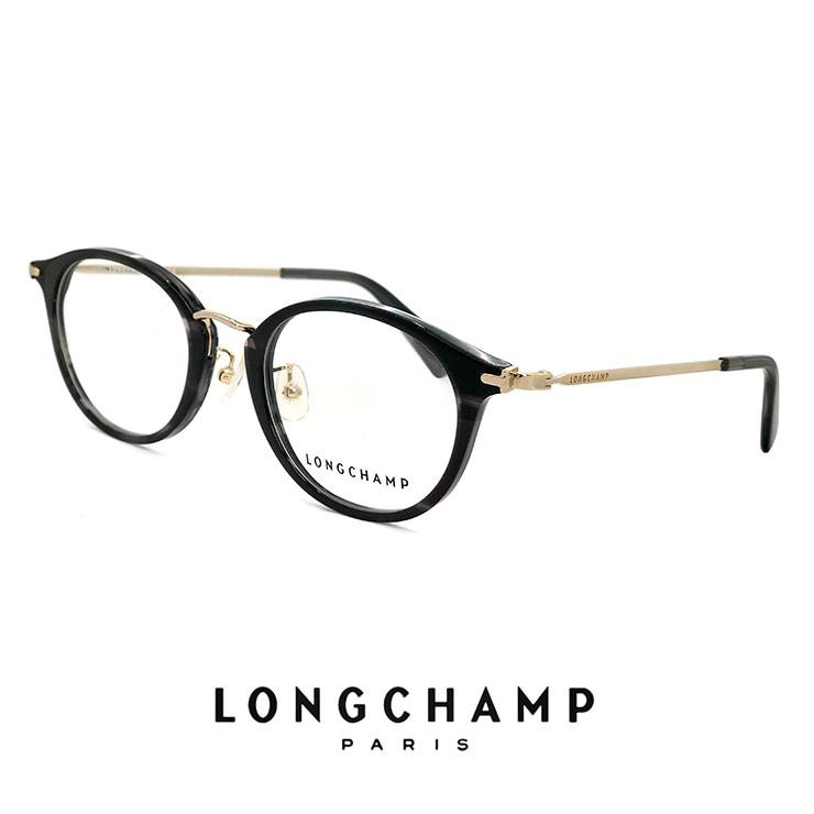 ロンシャン レディース メガネ lo2650j 036 longchamp 眼鏡 ジャパンフィットモデル [ 度付き,ダテ眼鏡,クリアサングラス,老眼鏡 として対応可能 ] ボストン型 ラウンド 丸メガネ 丸眼鏡