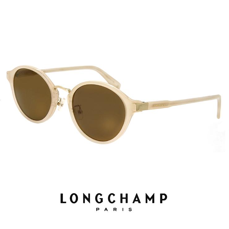 ロンシャン レディース サングラス lo652sj 272 longchamp ジャパンフィットモデル UVカット UV400 ボストン ラウンド型 クラシック レトロ 丸サングラス