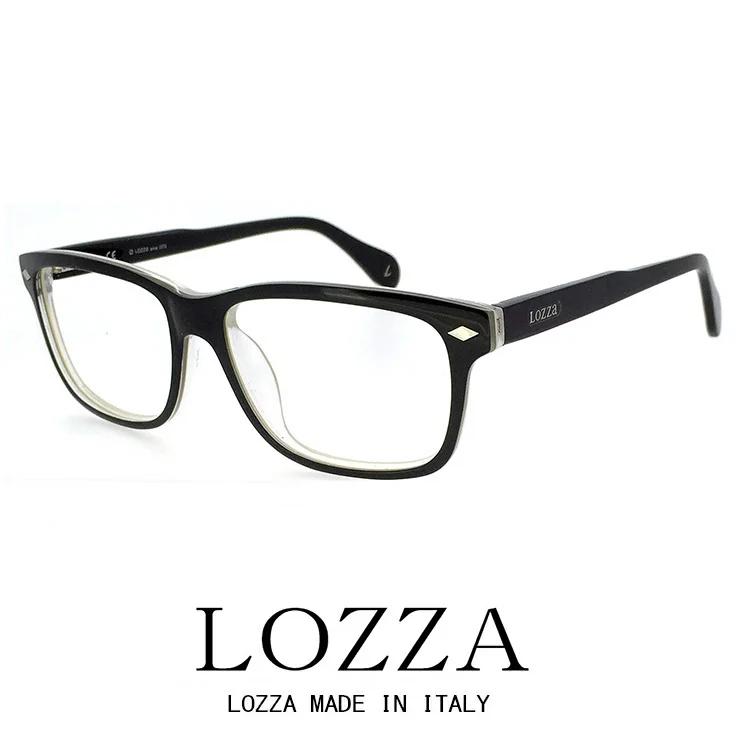 LOZZA ロッツァ メガネ バネ蝶番 vl1941-p71 ボストン 眼鏡 Brendon [ メンズ 男性用 ] [ 度付き・伊達メガネ・クリアサングラス・老眼鏡として 対応可能な UVカット レンズ 付き ] おしゃれ 人気