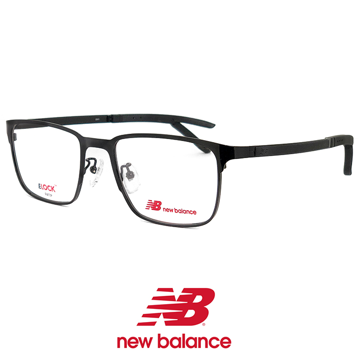 ニューバランス メンズ メガネ nb05161-1 New Balance 眼鏡 男性 [ 度付き,ダテ眼鏡 として対応可能 ] ニュー バランス new balance ウェリントン メタル