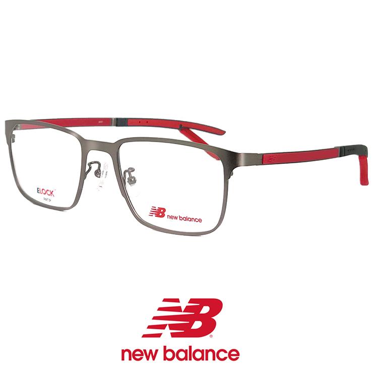 ニューバランス メガネ nb05161-2 New Balance 眼鏡 メンズ 男性 [ 度付き,ダテ眼鏡 として対応可能 ] ニュー バランス new balance ウェリントン メタル