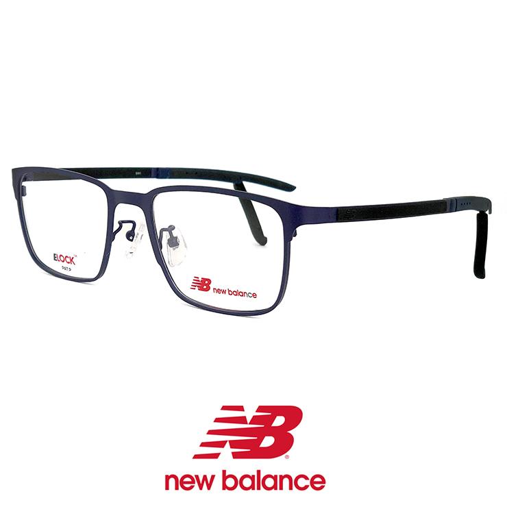ニューバランス メガネ nb05161-3 New Balance 眼鏡 メンズ 男性 [ 度付き,ダテ眼鏡 として対応可能 ] ニュー バランス new balance ウェリントン メタル