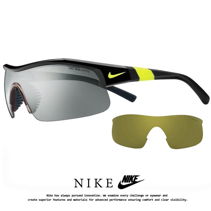 ナイキ サングラス EV0617 007 SHOW X1 NIKE [ 野球 ゴルフ 自転車 ランニング 登山 にオススメ ] ev0617 ショーエックス1 メンズ 男性用 スポーツサングラス スペアレンズ 付き