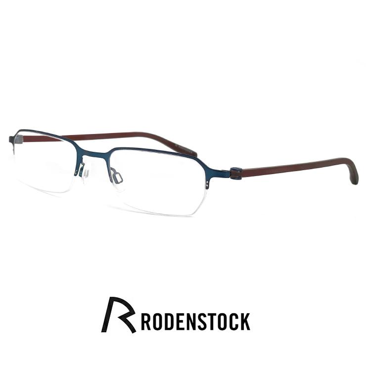 ローデンストック メガネ r4549 d RODEN STOCK 眼鏡 [ 度付き,ダテ眼鏡,クリアサングラス,老眼鏡 として対応可能 ] メンズ レディース ユニセックス モデル rodenstock ナイロール ハーフリム フレーム スクエア 型