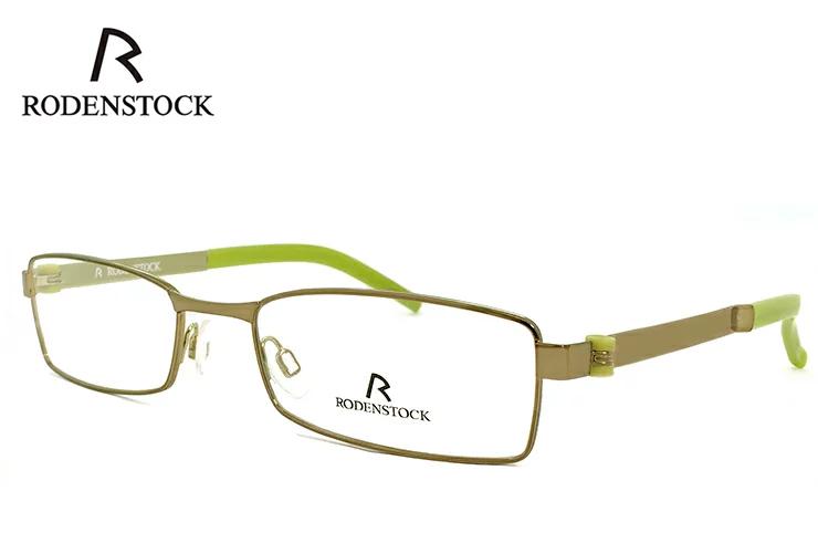 ローデンストック 老眼鏡 フレーム RODENSTOCK r4683 C メタル スクエア型 フレーム メンズ 男性用 +1.00 ~ +3.50 眼鏡 (メガネ) シニアグラス UVカット ローデン ストック