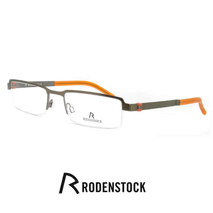 ローデンストック メガネ r4685 d RODEN STOCK 眼鏡 [ 度付き,ダテ眼鏡,クリアサングラス,老眼鏡 として対応可能 ] メンズ レディース ユニセックス モデル rodenstock フレーム ナイロール ハーフリム フレーム スクエア 型