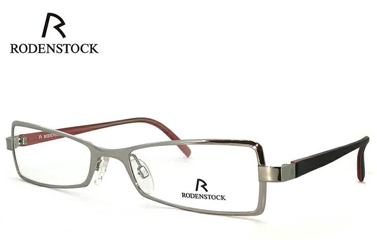 ローデンストック 老眼鏡 フレーム RODENSTOCK r4701 B メタル スクエア型 フレーム レディース 女性用 +1.00 ~ +3.50 眼鏡 (メガネ) シニアグラス UVカット ローデン ストック