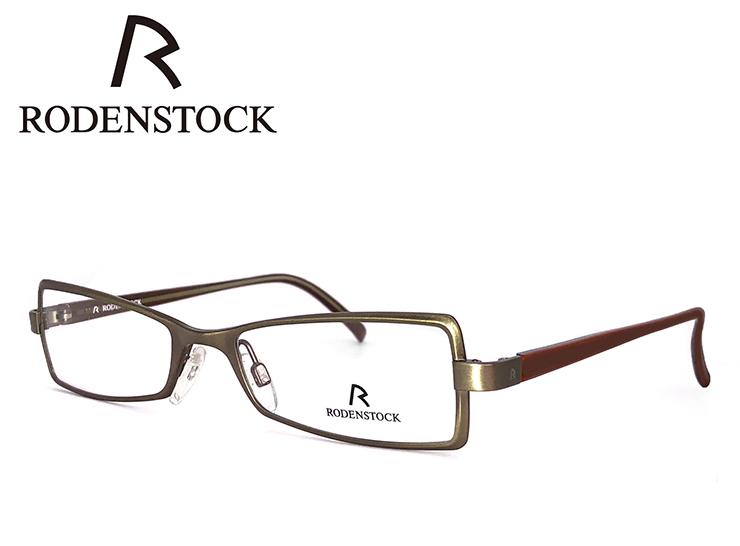 老眼鏡 ローデンストック フレーム RODENSTOCK r4701 D メタル スクエア型 フレーム レディース 女性用 +1.00 ~ +3.50 眼鏡 (メガネ) シニアグラス UVカット ローデン ストック