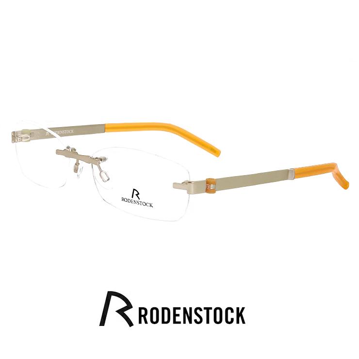 レディース 小顔の男性向き ローデンストック メガネ r4712 d RODEN STOCK 眼鏡 [ 度付き,ダテ眼鏡,クリアサングラス,老眼鏡 として対応可能 ] レディース 女性用 モデル rodenstock 軽量 フレーム ツーポイント 縁なし スクエア 型