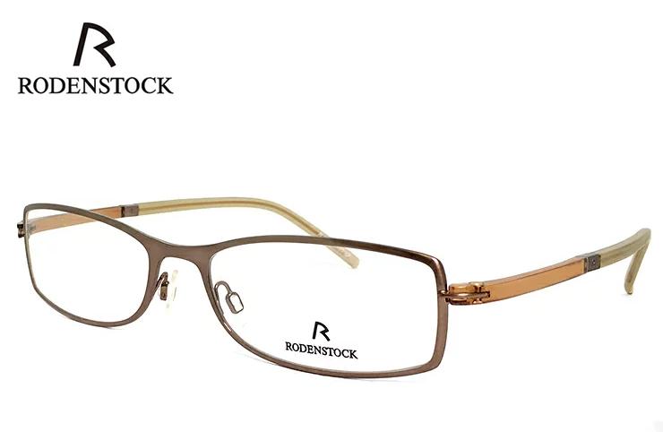 ローデンストック 眼鏡 (メガネ) RODENSTOCK R4716 B メタル コンビネーション フレーム メンズ 男性用 [ 度付き・伊達メガネ・クリアサングラス・老眼鏡として 対応可能な UVカット レンズ 付き ] ローデン ストック