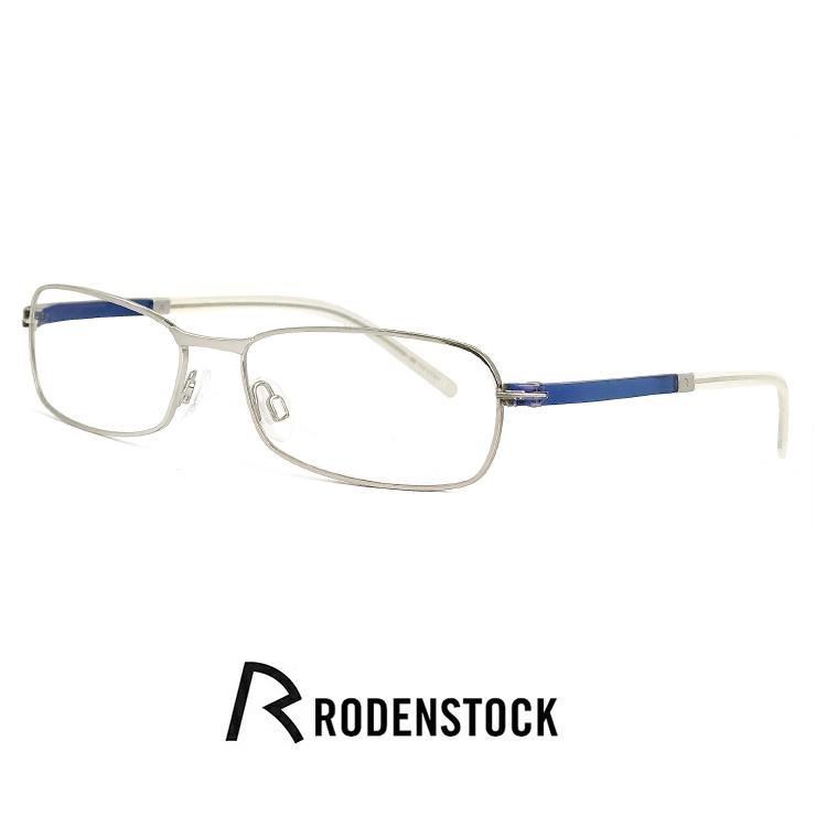 ローデンストック メガネ r4717 d RODEN STOCK 眼鏡 [ 度付き,ダテ眼鏡,クリアサングラス,老眼鏡 として対応可能 ] メンズ レディース ユニセックス モデル rodenstock ナイロール ハーフリム フレーム スクエア 型