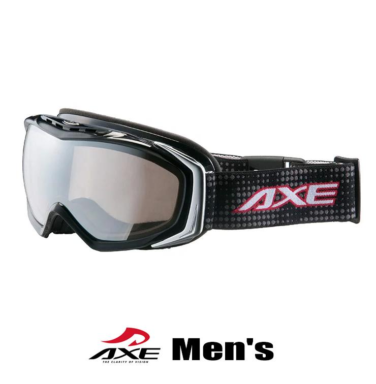 スノーゴーグル メンズ 男性用 AXE アックス ax700 wmd bk ブラック [スノーゴーグル スキー スノボー スノー ゴーグル] プレゼント