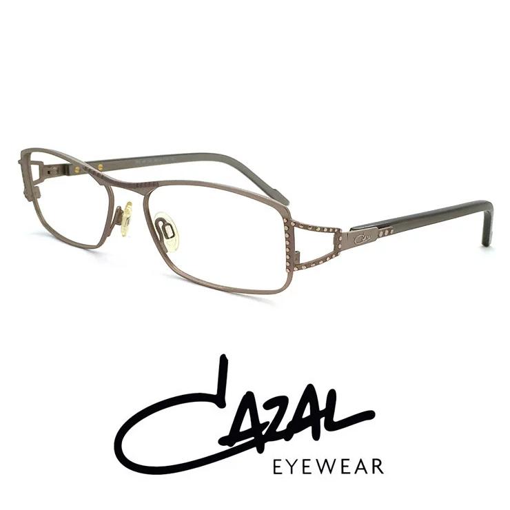 cazal メガネ mod487-563 カザール 眼鏡 [ 度付き・伊達メガネ・クリアサングラス・老眼鏡として 対応可能な UVカット レンズ 付き ]