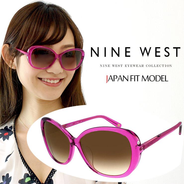 ナインウェスト NINE WEST サングラス nw578saf【 アジアンフィットモデル・正規品 】[ color : 663 ] ナインウエスト キャットアイサングラス レディース 女性用 プレゼントにも 人気 おすすめ