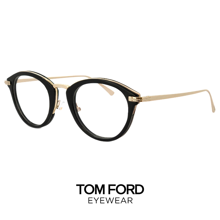 トムフォード メガネ tf5497 001 TOM FORD 眼鏡 黒ぶち [ 度付き,ダテ眼鏡,クリアサングラス,老眼鏡 として対応可能 ] tomford ft5497 ボストン ラウンド型 レディース メンズ 黒縁