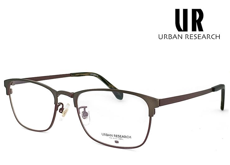 アーバンリサーチ メガネ urf5002-2 URBAN RESEARCH 眼鏡 メタル クラシック 軽量 メンズ [ 度付き,ダテ眼鏡,クリアサングラス,老眼鏡 として対応可能 ] アーバン リサーチ スクエア サーモントブロー型