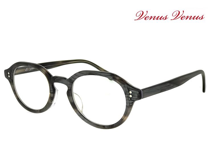 メガネ レディース ボストン型 眼鏡 [ 度付き・伊達メガネ・クリアサングラス・老眼鏡として 対応可能 UVカットレンズ付き ] おしゃれ かわいい venus×2 1502-3