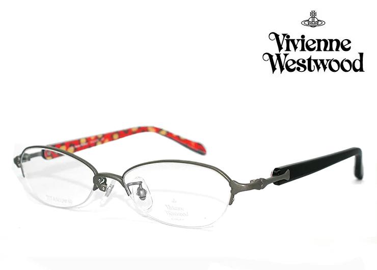 ヴィヴィアン ウエストウッド 眼鏡 (メガネ) Vivienne Westwood vw5102 (gr) vw-5102 [ 度付き・伊達メガネ・クリアサングラス・老眼鏡として 対応可能な UVカット レンズ 付き ] レディース 女性用 メタル βチタン ナイロール